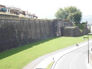 Murallas Casco Histórico Fuenterrabia-Hondarribia S.XVI-S.XVII